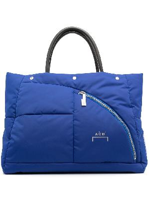 A-COLD-WALL* puffer tote bag