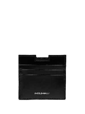 A-COLD-WALL* Sheet leather cardholder
