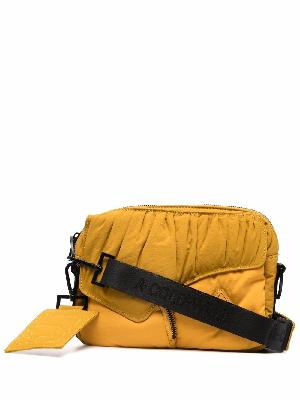 A-COLD-WALL* ruched-panel messenger bag