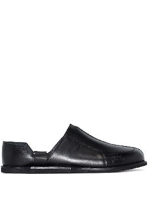 A-COLD-WALL* Geometric leather loafers
