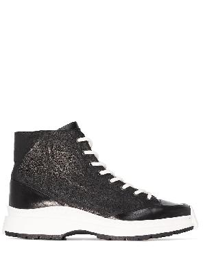 A-COLD-WALL* leather ankle boots