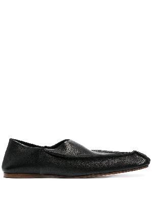 Acne Studios square-toe slippers