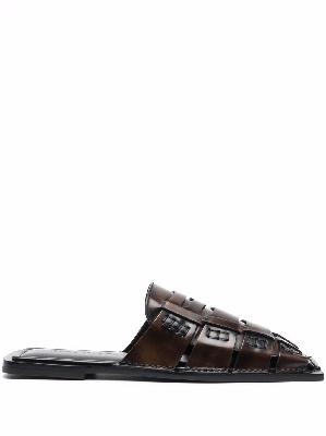Acne Studios woven leather sandals
