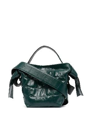 Acne Studios twisted knot tote bag