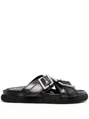 Acne Studios buckle-fastening leather sandals
