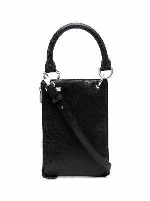 Ader Error leather tote bag