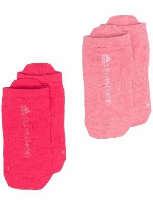 adidas by Stella McCartney logo-knit socks
