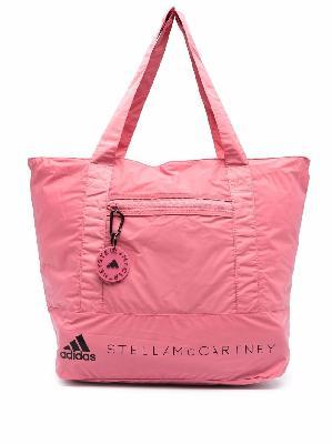 adidas by Stella McCartney logo-print tote bag