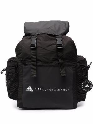 adidas by Stella McCartney logo-print backpack