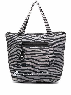 adidas by Stella McCartney zebra-print padded tote bag