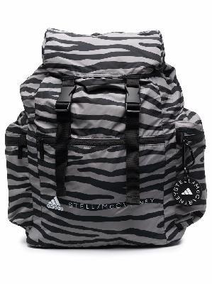 adidas by Stella McCartney animal-print logo-print backpack