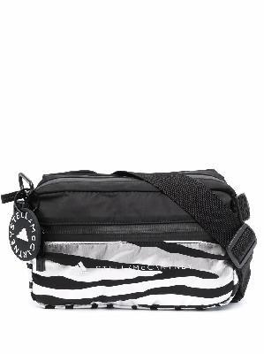 adidas by Stella McCartney zebra logo-print belt bags