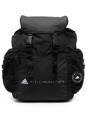 adidas by Stella McCartney logo-print multi-pocket backpack