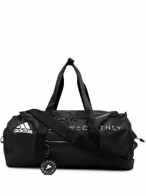 adidas by Stella McCartney logo-print zipped gym bag