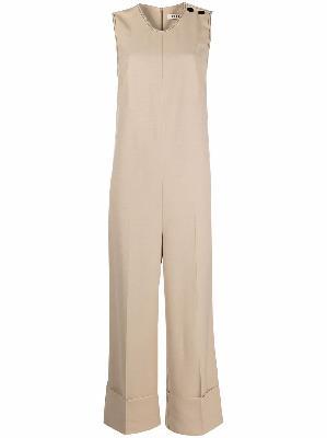 Aeron Java sleeveless cotton jumpsuit