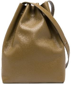 Aesther Ekme drawstring calf-leather shoulder-bag