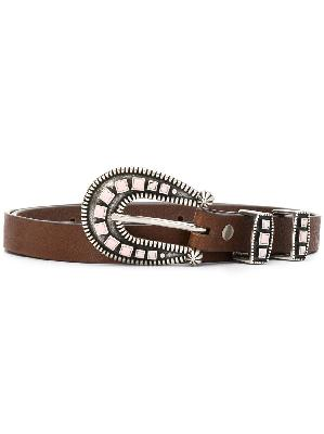 Alanui stoned-hardware belt