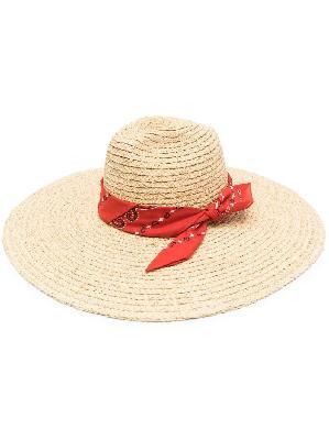 Alanui San Antonio straw hat