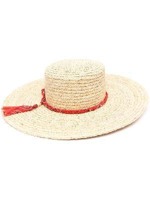 Alanui braided band sun hat