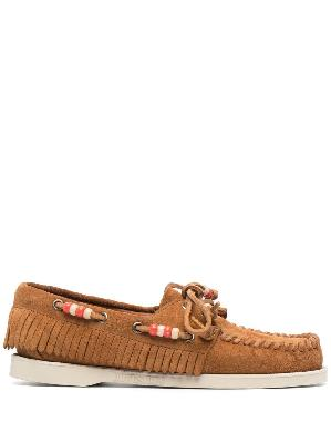 Alanui Dockside beaded loafers