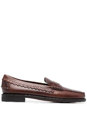 Alanui bead-embellished loafers