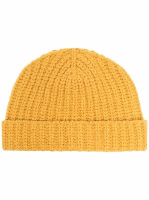 Alanui ribbed-knit beanie