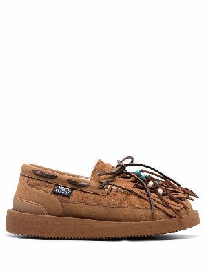 Alanui x Suicoke Owm fringed loafers