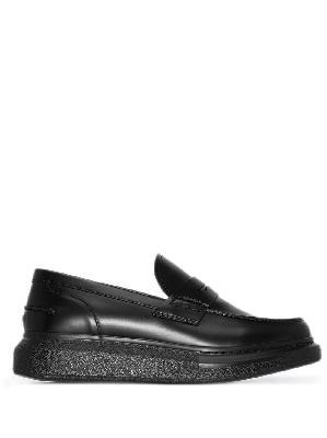 Alexander McQueen platform loafers