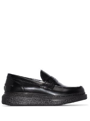 Alexander McQueen Hybrid platform loafers