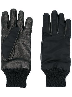 Alexander McQueen zipped pocket leather gloves