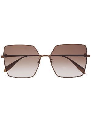 Alexander McQueen oversized gradient sunglasses
