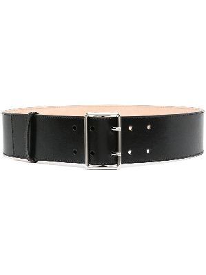 Alexander McQueen wide military belt