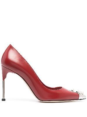 Alexander McQueen Punk stud 105mm heeled pumps