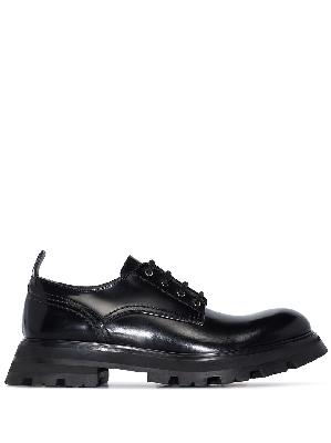 Alexander McQueen Wander leather lace-up shoes