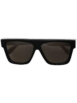 Alexander McQueen tinted square-frame sunglasses