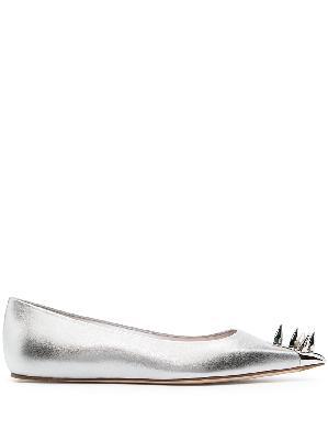 Alexander McQueen spike-detail ballerina shoes