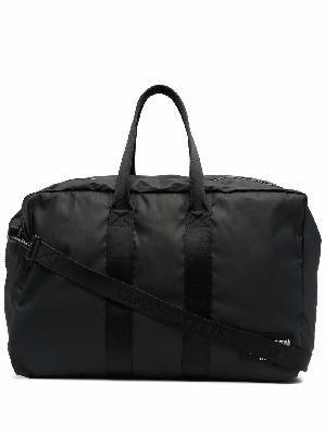Alexander McQueen large logo patch holdall