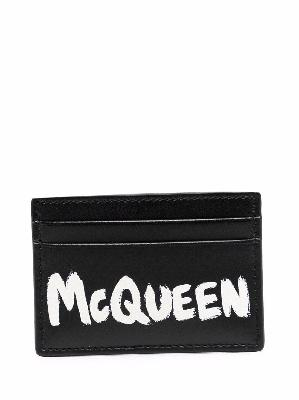 Alexander McQueen McQueen Graffiti cardholder