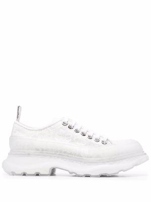 Alexander McQueen Tread Slick lace-up shoes