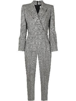 Alexander McQueen peak-lapel tailored jumpsuit