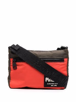 Alexander McQueen logo-patch shoulder bag