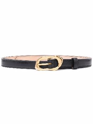 Alexander McQueen leather buckle belt