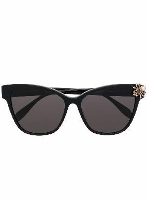 Alexander McQueen Spider-Jewelled embellished sunglasses