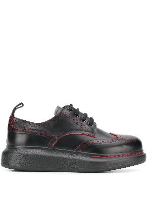 Alexander McQueen Hybrid lace-up brogues