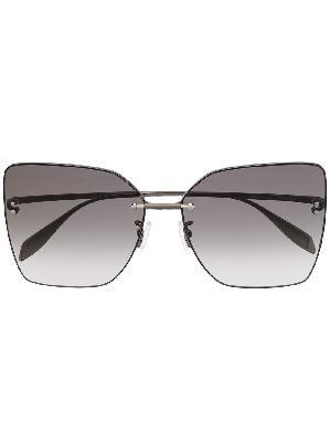 Alexander McQueen square-frame gradient sunglasses