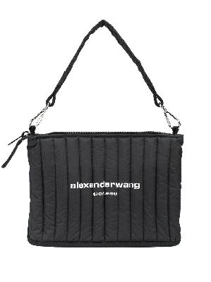 Alexander Wang logo-print padded shoulder bag