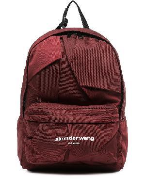 Alexander Wang logo-print zip-fastening backpack