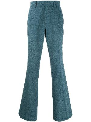 AMIRI jacquard flared suit trouser