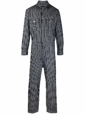Aries striped denim jumpsuit
