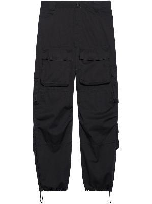 Balenciaga baggy cargo trousers